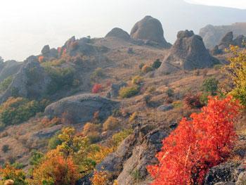 Осень на Демирджи, Крым